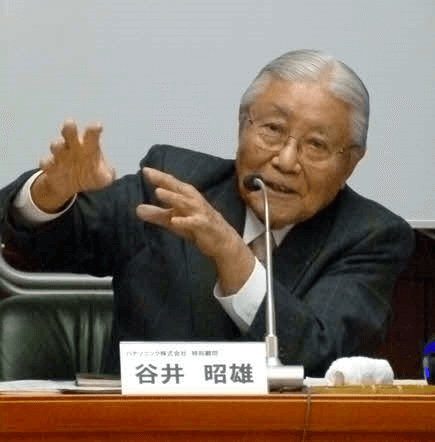 パナソニック特別顧問の谷井昭雄氏が特別講師として登壇~第12期第5回