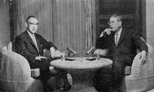 池田総理とテレビで対談――PHP活動〈46〉