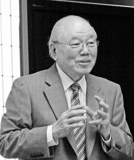松下電器産業元副社長の戸田一雄氏が特別講師として登壇~第17期第3回