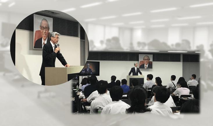 佐藤悌二郎が「21世紀のリーダーに向けて~松下幸之助翁が何としても伝えたかった事~」について講演!<8/20・京都市>