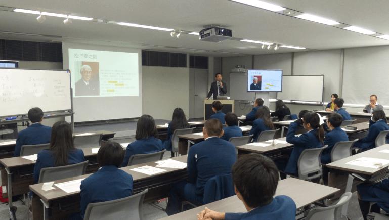 京都市立八条中学校 校外学習「京都市内キャリア研修」が開かれました<2019.11.19>
